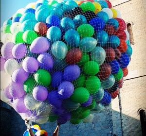 Сетка для запуска шаров